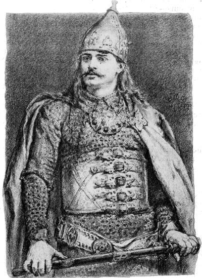wizerunek Bolesłąwa III Krzywoustego wedlug obrazu Jana Matejki